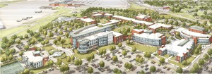 A rendering of the Emerging Technologies Complex on the College's Blountville campus.