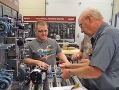 RCAM trains tomorrow's skilled manufacturing workers.