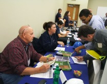 Employers attending the career fair represent a variety of companies from around the region.