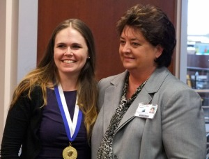 Beth Ross and Dr. Janice Gilliam