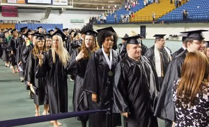 The 2013 graduating class was the largest ever at Northeast State.