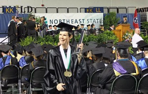 More than 260 students graduated with honors.