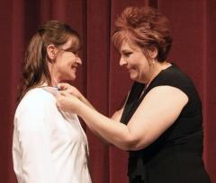 Northeast Nursing grads got their pins Tuesday night.