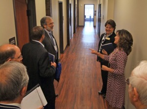 TBR Chancellor John Morgan tours Northeast State at Bristol.