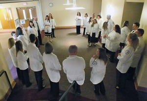 Northeast Nursing graduates enter the workforce as registered nurses.