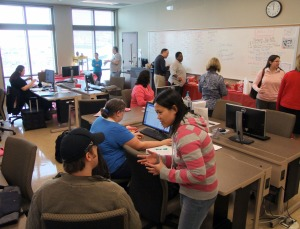 The Learning Center at KCHE is already drawing a significant number of students.