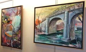 Paintings on display at KCHE