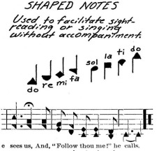Shape Note Singing