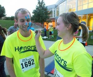 The Honors Glow Run