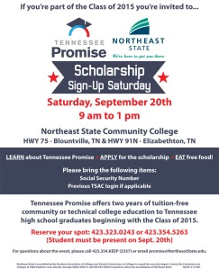 TN Promise Scholarship Saturday