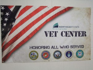 The Veterans Center (A101) at Northeast State.
