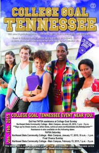 College Goal Sunday is Jan. 25.