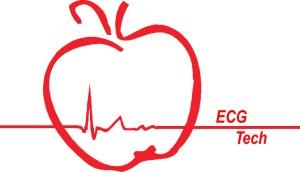 Apple heartbeat red ECG