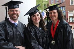 Dave, Emily, and Lisa Baughn