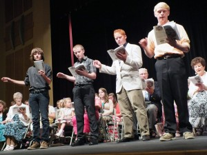 The Tri-Cities Gospel Music Camp brings the shaped-note music concert to life at the WRCPA Theater July 30.