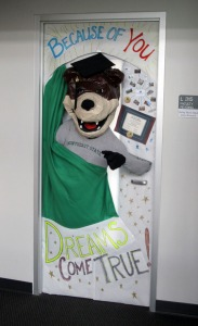 The 3-D JP Bear Door.