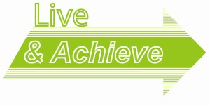 Live and achieve logo
