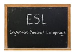 English as a second language graphic