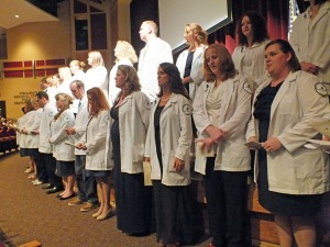 Northeast State Nursing recognizes its newest class.