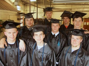 Dual enrollment welding students from Sullivan Central High School.