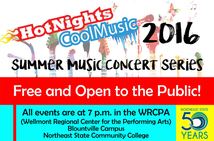 Hot Nights Cool Music Concert Series Opens June 11
