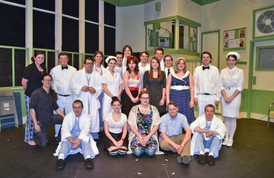 One Flew Over the Cuckoo's Nest cast and crew.