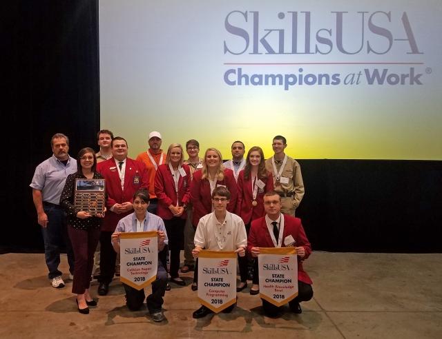 SkillsUSA state team